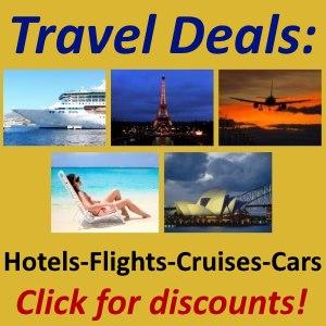 Online travel deals
