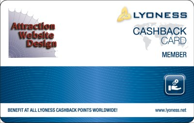 Co-branded Lyoness member card