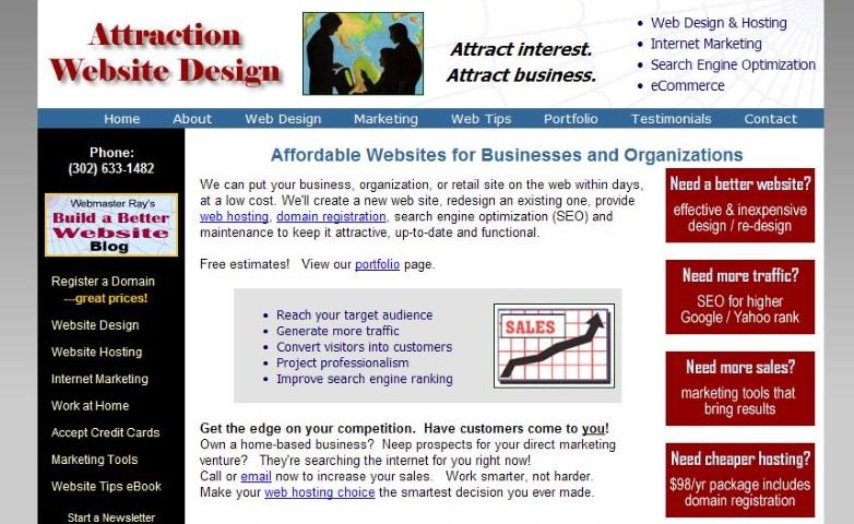 Webmaster Ray of Wilmington DE