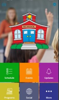 School or Organization mobile app