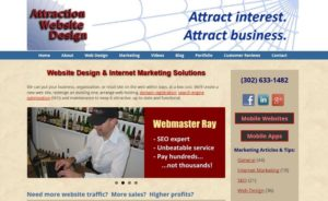 Attraction Web Design