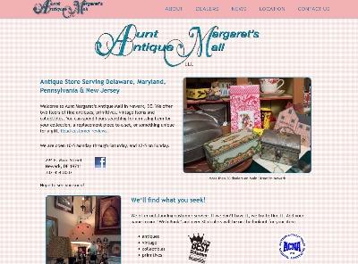 antiques store retailer website