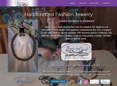 Jewelry retailer website