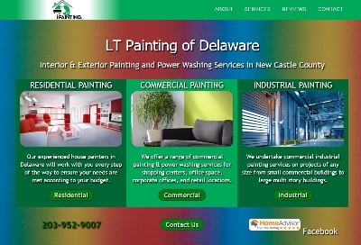 contractor websites for painters