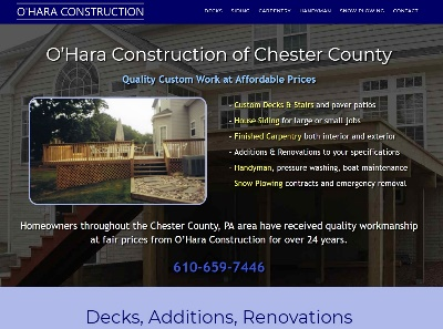 Contractor websites for construction