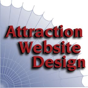 Attraction Website Design